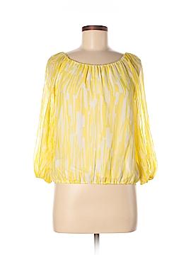 Alice + olivia Long Sleeve Silk Top Size S