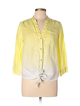 INC International Concepts Long Sleeve Button-Down Shirt Size 8