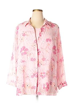 Laura Scott Long Sleeve Blouse Size 18 (Plus)