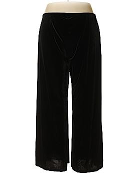 IMAN Velour Pants Size 2X (Plus)