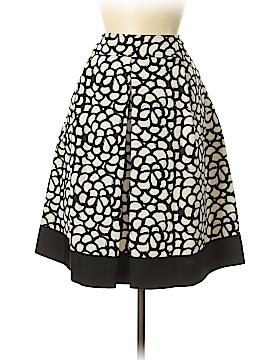 Oscar De La Renta Silk Skirt Size 12