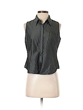 Express Sleeveless Silk Top Size 7 - 8