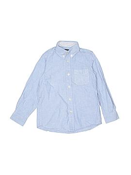 E-Land American Long Sleeve Button-Down Shirt Size 5