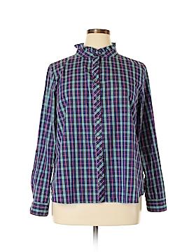 Talbots Outlet Long Sleeve Button-Down Shirt Size XL (Petite)