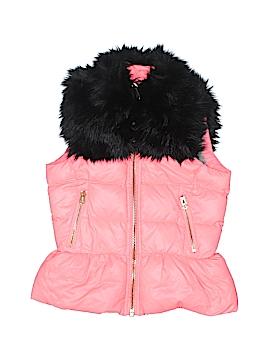 Juicy Couture Faux Fur Vest Size 7