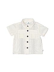 Route 66 Boys Short Sleeve Button-Down Shirt Size 6-9 mo