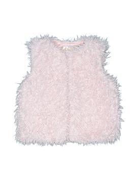 Genuine Baby From Osh Kosh Faux Fur Vest Size 2T/3T
