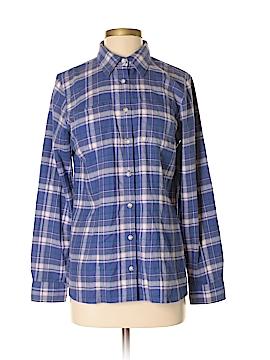 L.L.Bean Factory Store Long Sleeve Button-Down Shirt Size S
