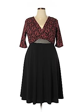 Kiyonna Casual Dress Size 1X Plus (Plus)
