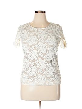 D. Exterior Short Sleeve Blouse Size XL