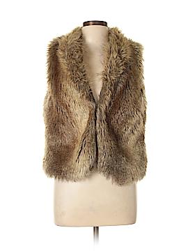 Express Faux Fur Vest Size L