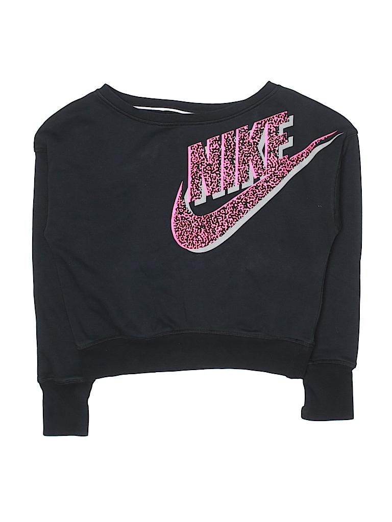 Size Graphic kids 76 Nike Sweater Pullover Black Animal L Print qxFZ6Spwa