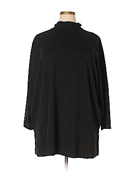 D&Co. 3/4 Sleeve Turtleneck Size 2X (Plus)