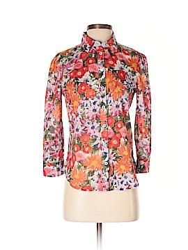 HD in Paris Short Sleeve Button-Down Shirt Size 00