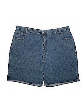 St. John's Bay Denim Shorts Size 26 (Plus)
