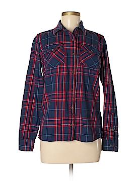 Magellan Sportswear Long Sleeve Button-Down Shirt Size M