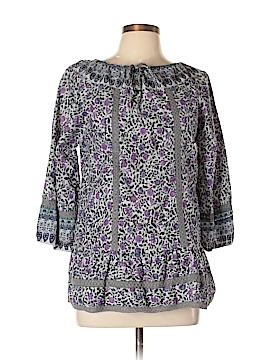 Fashion Fuse 3/4 Sleeve Blouse Size L