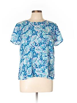 Talbots Outlet Short Sleeve Blouse Size L (Petite)