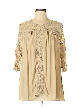 Hannah 3/4 Sleeve Blouse Size M