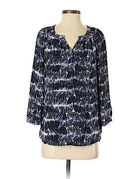 Cynthia Rowley for T.J. Maxx 3/4 Sleeve Silk Top Size S