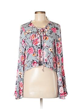 Modern Vintage Long Sleeve Blouse Size M