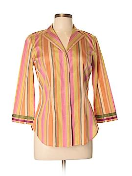 Sigrid Olsen 3/4 Sleeve Silk Top Size S