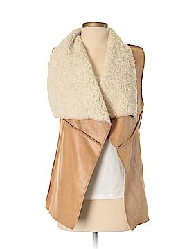 Cherish Faux Fur Vest Size S