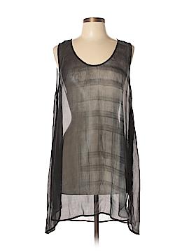 Eileen Fisher Sleeveless Silk Top Size L