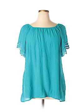 Spense Short Sleeve Blouse Size 1X (Plus)
