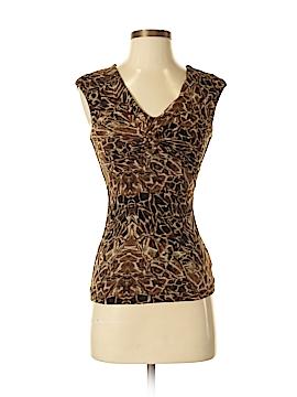 Classiques Entier Short Sleeve Silk Top Size XS