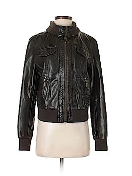 Esprit Faux Leather Jacket Size S