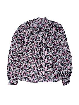 H&M Long Sleeve Button-Down Shirt Size 9 - 10