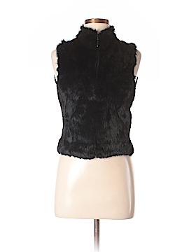 Bebe Faux Fur Vest Size M