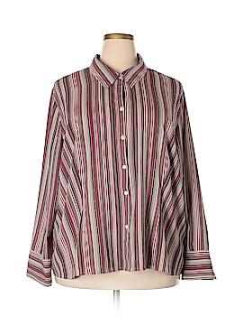Apt. 9 Long Sleeve Blouse Size 3X (Plus)