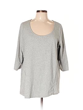 Cynthia Rowley for Marshalls 3/4 Sleeve T-Shirt Size 2X (Plus)
