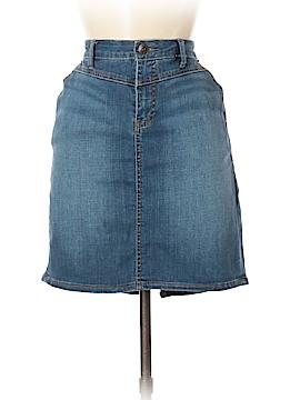 DKNY Jeans Denim Skirt Size 8