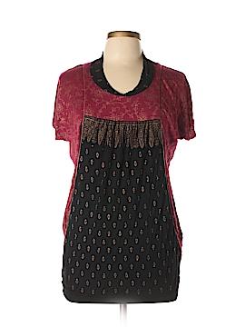 Global Desi Short Sleeve Top Size XS