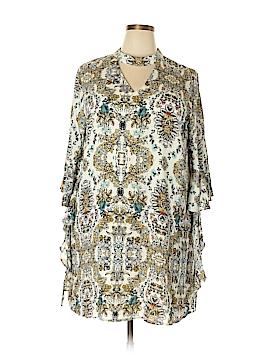 Blu Pepper Casual Dress Size 3X (Plus)