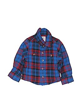 Peek... Long Sleeve Button-Down Shirt Size 12-18 mo