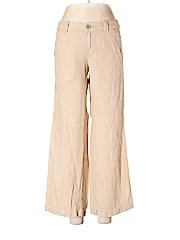 Pilcro and The Letterpress Women Linen Pants Size 6 (Petite)