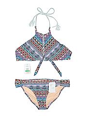 Jessica Simpson Women Two Piece Swimsuit Size L