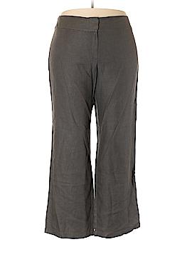 Eileen Fisher Linen Pants Size 18 (Plus)