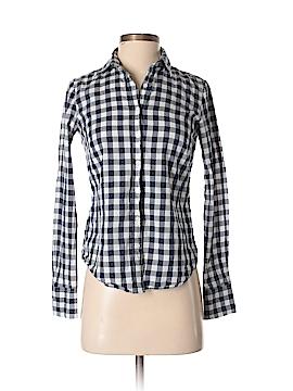 IZOD Long Sleeve Button-Down Shirt Size XS