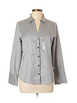 Ann Taylor Factory Long Sleeve Button-Down Shirt Size 12 (Petite)