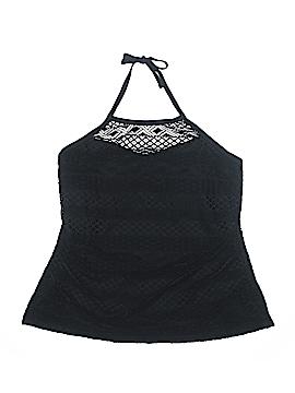 Island Escape Swimsuit Top Size 20w (Plus)