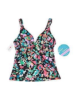 Swim Solutions Swimsuit Top Size 10