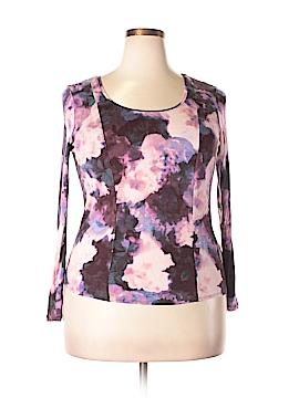 Simply Vera Vera Wang Long Sleeve T-Shirt Size XL (Petite)