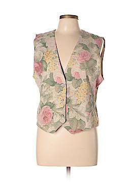 Leslie Fay Tuxedo Vest Size L