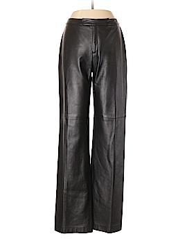 Linda Allard Ellen Tracy Leather Pants Size 10