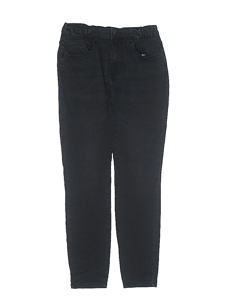 6945bb350 Zara Solid Black Jeans Size 14 - 94% off | thredUP